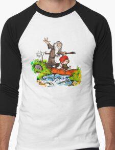 Gandalf and Bilbo Men's Baseball ¾ T-Shirt