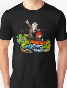Gandalf and Bilbo Unisex T-Shirt