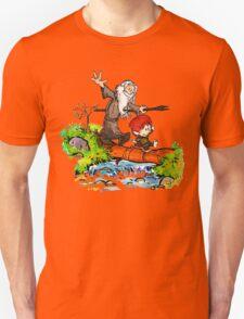 Gandalf and Bilbo Unisex T-Shirt