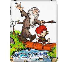 Gandalf and Bilbo iPad Case/Skin