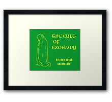 The Cult of Exogamy  Framed Print