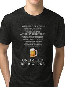 Unlimited Beer Works Tri-blend T-Shirt