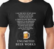Unlimited Beer Works Unisex T-Shirt