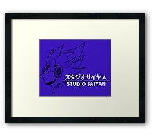 Studio Saiyan Framed Print