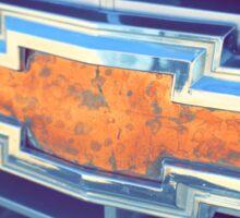Chevy copper Sticker