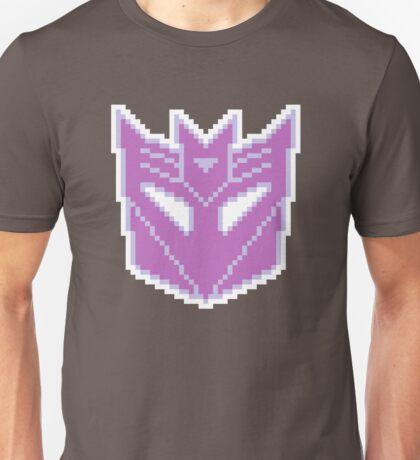 Decepticons Symbol Pixel Unisex T-Shirt