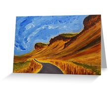 Road in Iceland Greeting Card