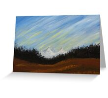 Mountains in Colorado Greeting Card