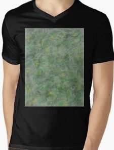 Holo with Leaves Mens V-Neck T-Shirt