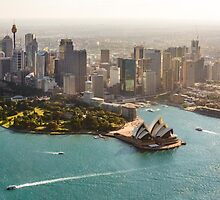 Sydney from the Sky by Ana Andres-Arroyo