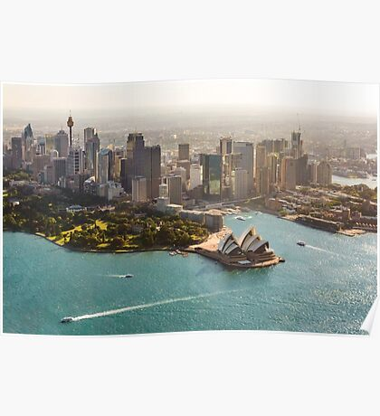 Sydney from the Sky Poster