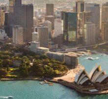 Sydney from the Sky Sticker