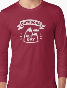 Outdoors All Day Long Sleeve T-Shirt