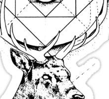 Buck + Geometry Sticker