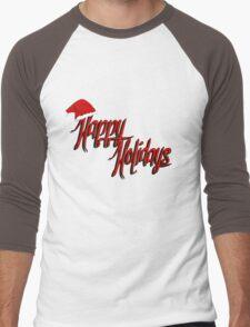 Happy Holidays! Men's Baseball ¾ T-Shirt