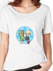 Damian + Nora Chibi Women's Relaxed Fit T-Shirt