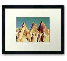 Three Hills Framed Print