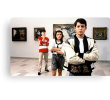 Ferris Bueller Shirt Canvas Print