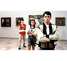 Ferris Bueller Shirt Photographic Print