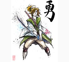 Link from Zelda Sumie style calligraphy COURAGE Unisex T-Shirt