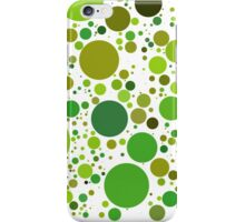 Green Dot #42 iPhone Case/Skin
