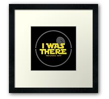 I was there Framed Print