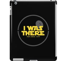 I was there iPad Case/Skin