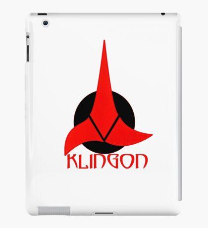 Klingon shirt iPad Case/Skin