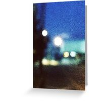 Starry Street Greeting Card