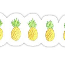 cute pineapples Sticker