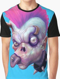 ZED HEADZ - Ear Worm Graphic T-Shirt