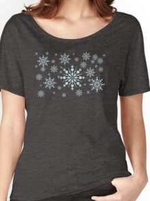 Snow Pattern Three Women's Relaxed Fit T-Shirt