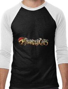 Thundercats Logo Men's Baseball ¾ T-Shirt