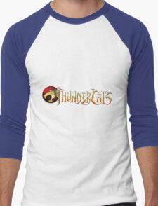 Thundercats Logo Men's Baseball ¾ T-Shirt