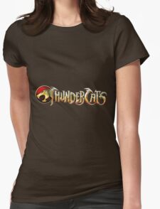 Thundercats Logo Womens Fitted T-Shirt