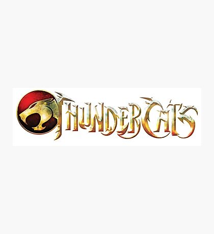 Thundercats Logo Photographic Print