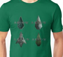 Arrow's Logo Evolution Unisex T-Shirt