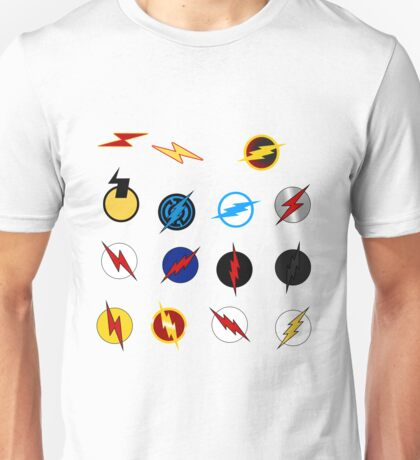 Flash Symbols Unisex T-Shirt