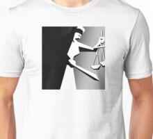 Justice Judges Against You Unisex T-Shirt
