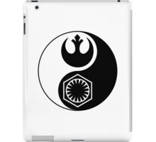 Star Wars - The Resistance v The First Order Yin Yang iPad Case/Skin
