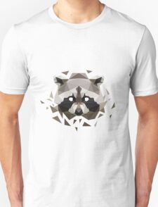 Geometric Raccoon T-Shirt