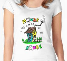 Mouse In Da House Women's Fitted Scoop T-Shirt