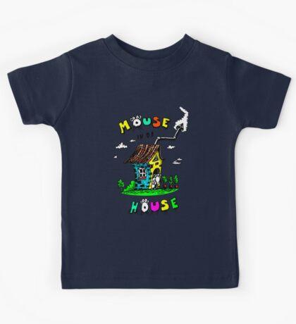 Mouse In Da House Kids Tee