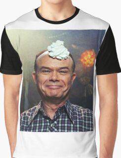 red forman with whipped cream on his head Graphic T-Shirt
