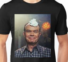 red forman with whipped cream on his head Unisex T-Shirt