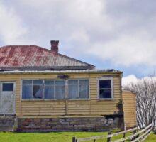 Abandoned Farmhouse,  Tasmania, Australia Sticker