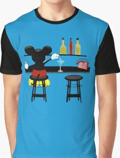 Slipping A Mickey Graphic T-Shirt