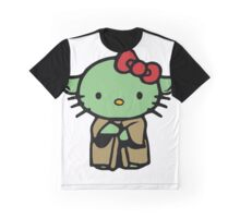 Hello Kitty Yoda Star Wars Graphic T-Shirt