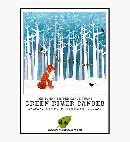 2016 Poster - Christmas Fox Photographic Print
