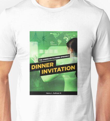 Dinner Invitation Book Cover Unisex T-Shirt